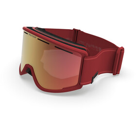 Spektrum Templet Essential Collection Goggles, brique/zeiss brown multi layer red